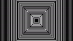 Concentric geometric shapes-04-8-pa - stock footage