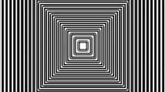 Concentric geometric shapes-04-9-pa Stock Footage