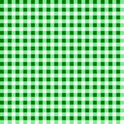 Gingham Green and White Pattern Stock Illustration