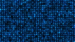 abstract cell grid blue - stock footage
