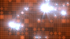 abstract grid maps color ray - stock footage