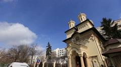 Orthodox Church exterior Stock Footage