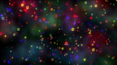 color bubble abstract clouds - stock footage