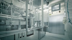 Chemical Laboratory - stock footage