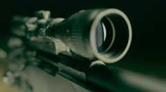 Sniper Rifle L96 Stock Footage