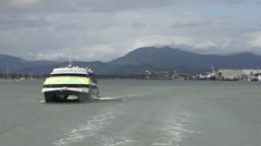 Cairns Marlin Marina in Queensland Australia - stock footage