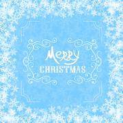 Art deco vintage christmas design of retro flourishes frames. - stock illustration