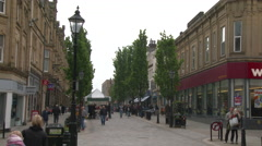 Halifax Town Centre Stock Footage