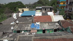 India slum homes Stock Footage