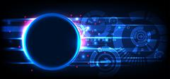 Abstract technology background. - stock illustration