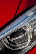 Car LED headlight - stock photo