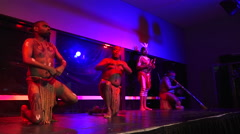 Aboriginal people dance Stock Footage