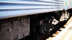 railway station,  train, blurred, transportation - stock footage