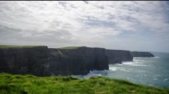 Cliffs of Moher Time Lapse Stock Footage
