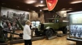 People in Kiev national museum of the history of Ukraine in the Second World War HD Footage