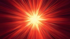 Red Shining Star Background Stock Footage