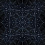 Geometric Galaxy Pattern Stock Illustration