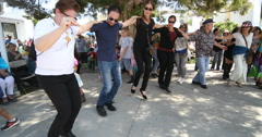Greek Festival Dancers  Stock Footage