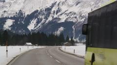 Highway 179 passing Heiterwang Stock Footage