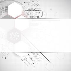 New technology business background - stock illustration