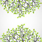 Abstract nature background. Stock Illustration