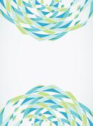 Abstract retro-style background. Vector - stock illustration