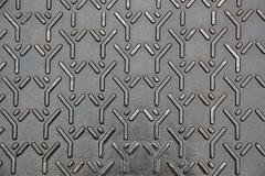 Metal diamond plate Stock Photos