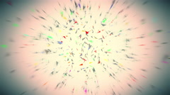 geometrical abstraction 4K background - stock footage