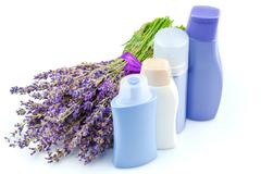 Body care products - stock photo