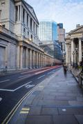 Bank of England, City of London, London, England, United Kingdom, Europe Stock Photos