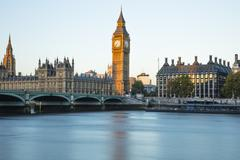 Houses of Parliament, UNESCO World Heritage Site, Westminster, London, England, Stock Photos