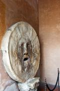 Mouth of Truth (Bocca della Verita), Basilica of St. Maria in Cosmedin, Rome, Stock Photos