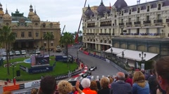 Grand Prix Historique of Monaco Stock Footage
