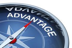 advantage - stock illustration