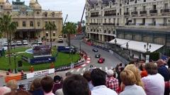Grand Prix Historique of Monaco - stock footage