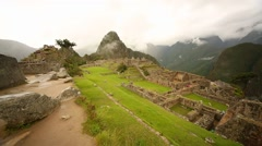 Machu Picchu in Peru, South America - stock footage