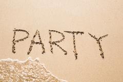 Party on the beach, literally Kuvituskuvat