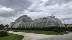 Tthe Palm house in Kew gardens Stock Footage