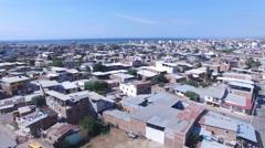 Sprawling City of Manta - stock footage