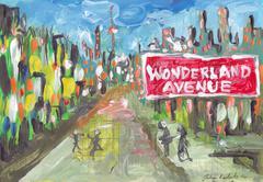 Wonderland Avenue Stock Illustration