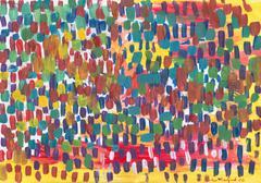 Abstract Happy Rain Stock Illustration