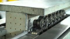 Metal Bending Machines Stock Footage