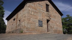 Mariposa historic jail - stock footage