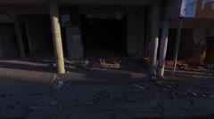 Destruction at Manta's Ground Zero - stock footage