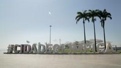 Olympic City - Museum of Tomorrow - Rio de Janeiro - Brazil Stock Footage