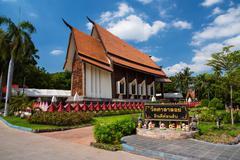 wat Sala Loi in Korat - stock photo