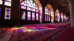 In iran colors from the windows Stock Footage
