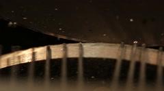 Needles. USSR. Laser CNC lathe. Plasma cutting of metal. Stock Footage