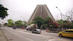 Catedral Metropolitana in Rio de Janeiro, Brazil - stock footage