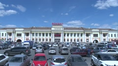 Yekaterinburg Central station Stock Footage